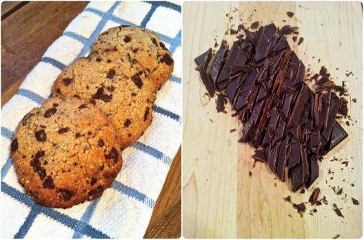 choco coconut cookies