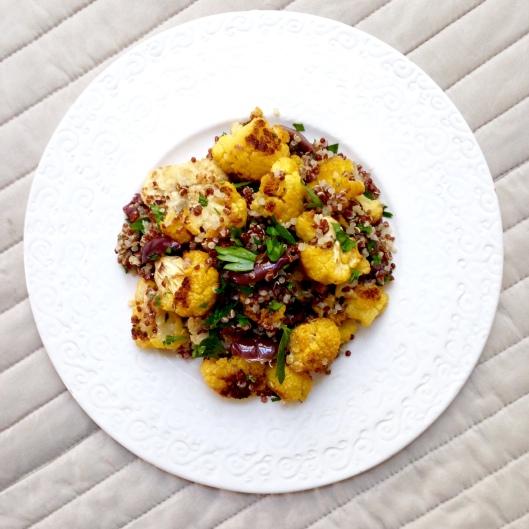 Mediterranean Cauliflower Salad 1