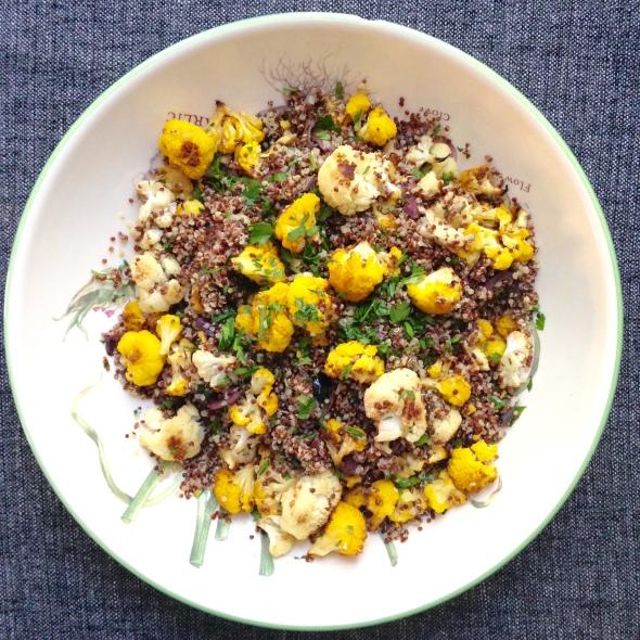 Mediterranean Cauliflower Salad 2